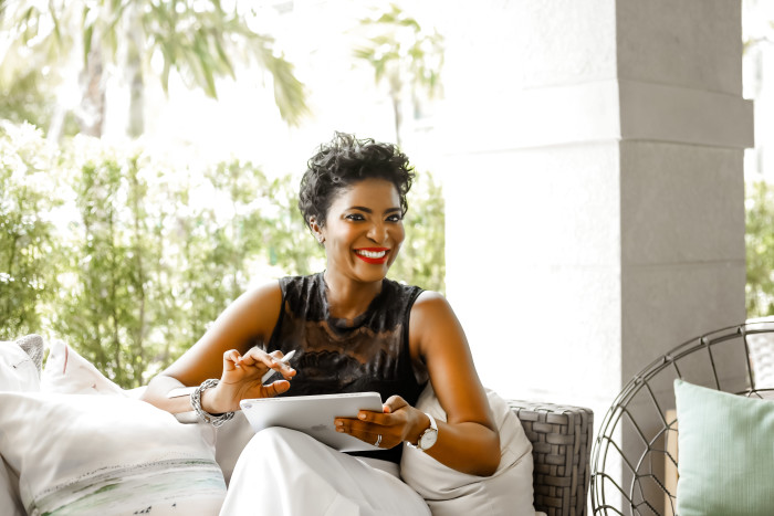 A portrait of Yetunde Shorters