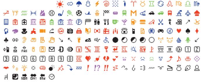 The first emoji set