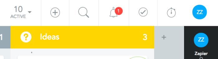 MeisterTask in-app notifications