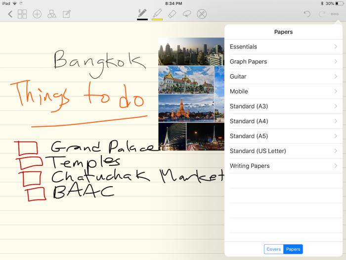 GoodNotes iPad