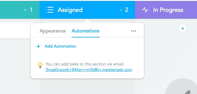 Add automations