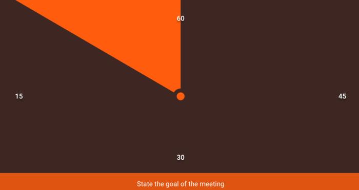 Team Meeting Timer