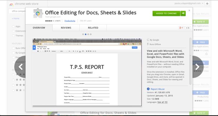 Edit Microsoft Office Documents