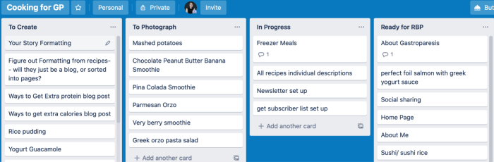The intuitive Trello interface