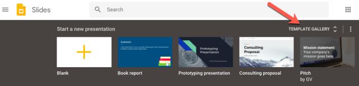 Google Slides education templates