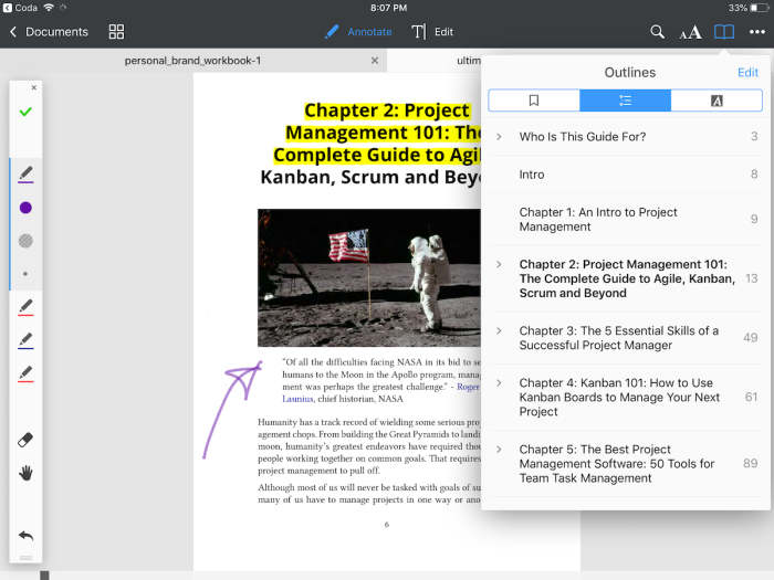PDF Expert iPad