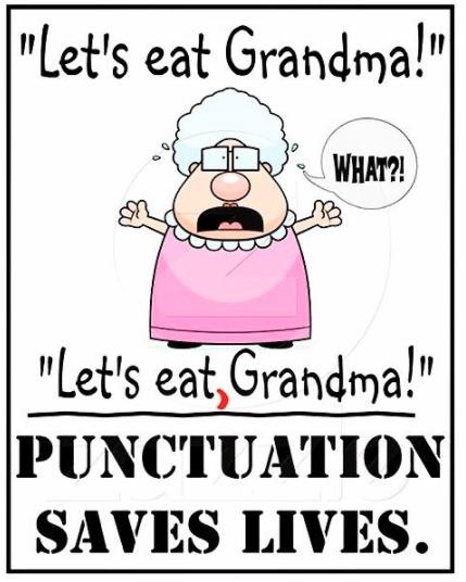Oxford comma confusion