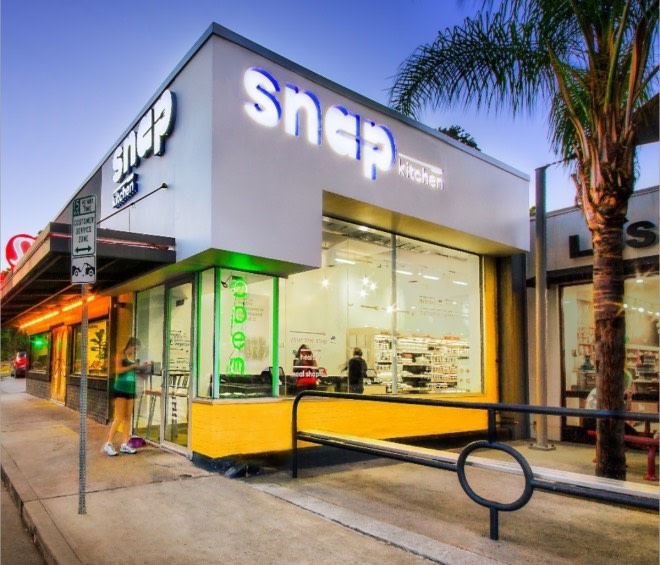 One of Snap Kitchen's Austin, TX locations.