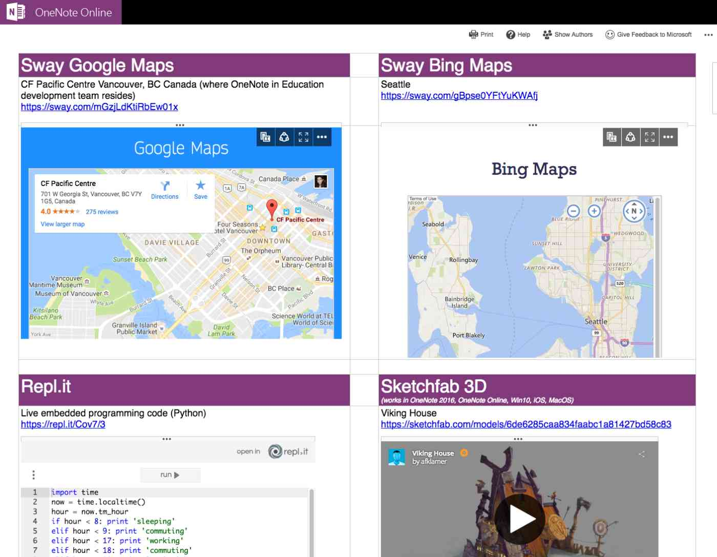 OneNote Tutorial: OneNote live objects