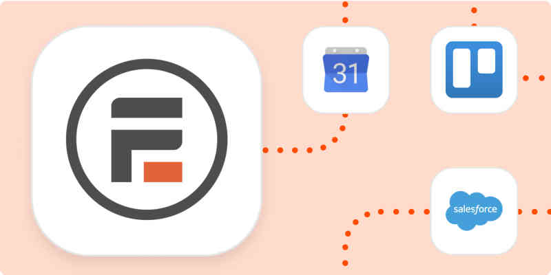 Formidable Forms logo with the app logos it can connect to.