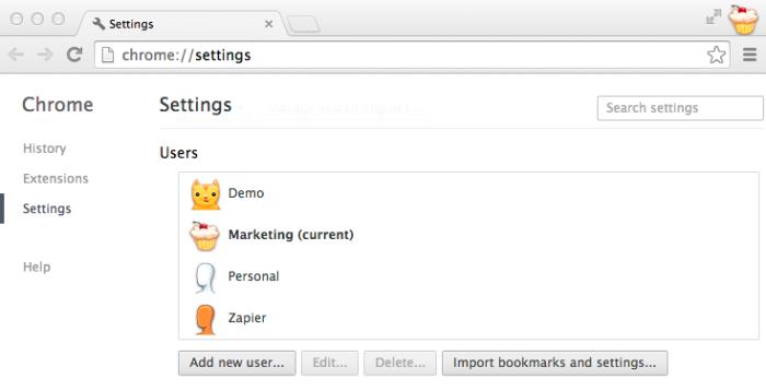 Multiple Chrome Profiles