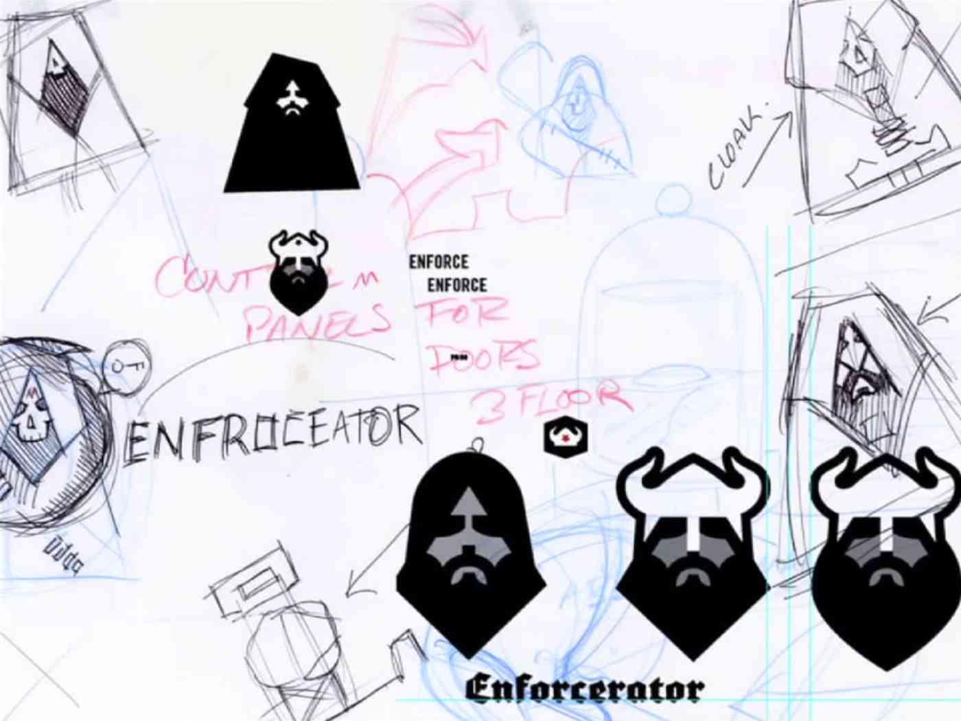 Viking sketches