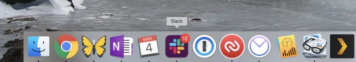 Slack red icon
