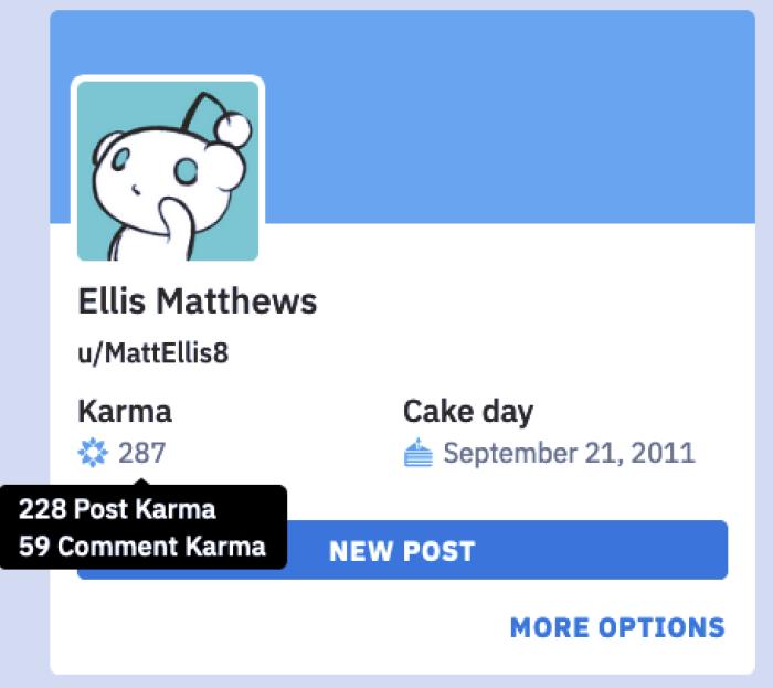 Dónde encontrar tu karma de Reddit