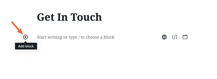 Agregar un nuevo bloque en WordPress