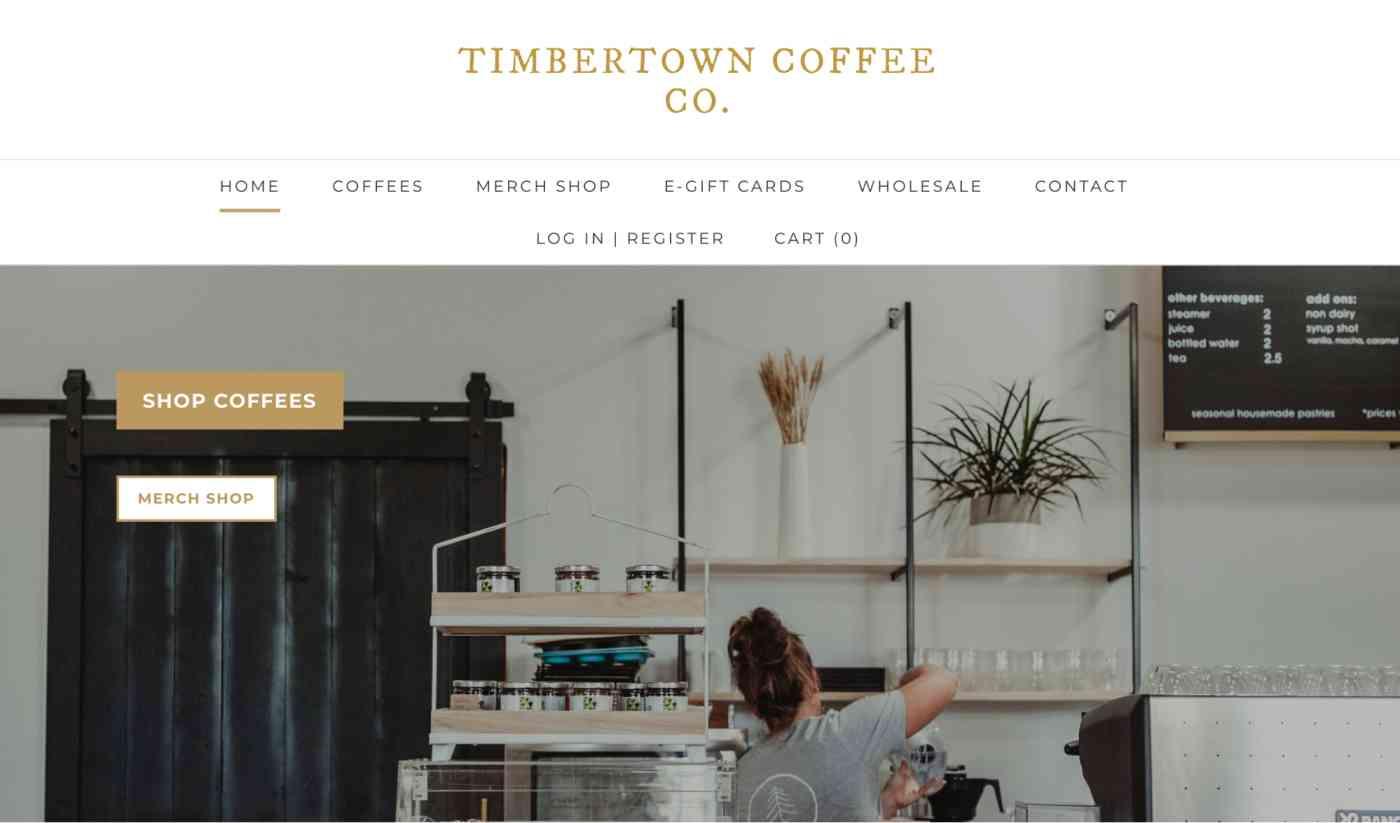 Timbertown's website