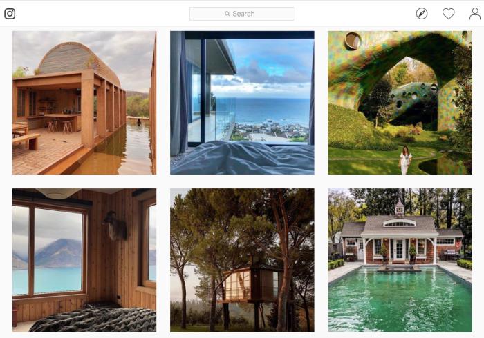 Instagram Airbnb photos