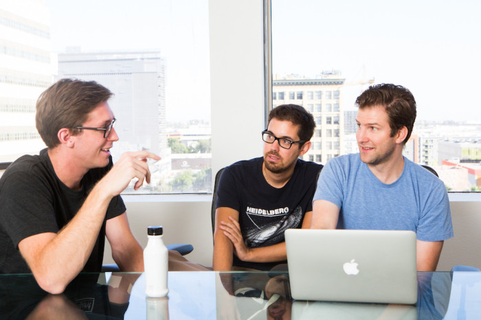 john and his team working on soylent