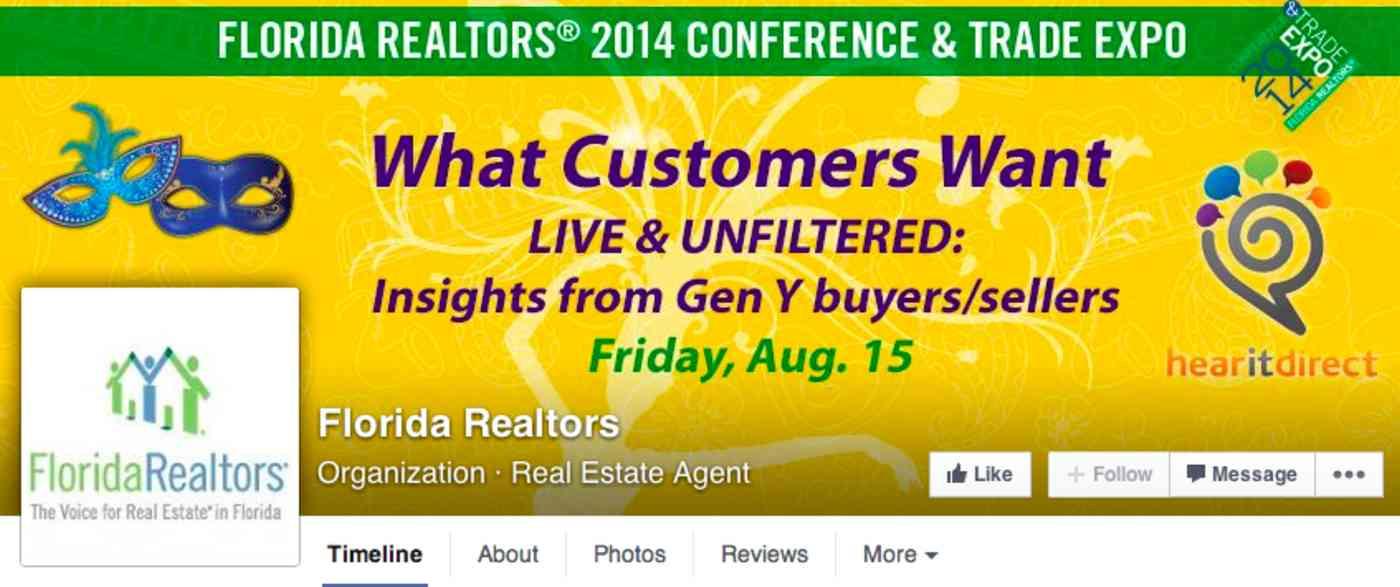 Florida Realtors on Facebook