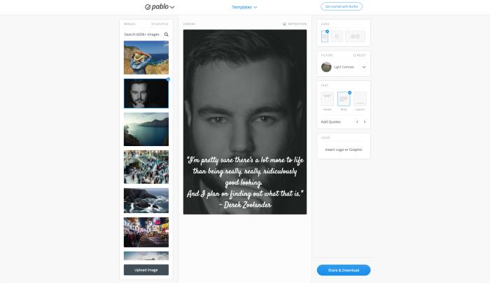 Pablo by Buffer screenshot