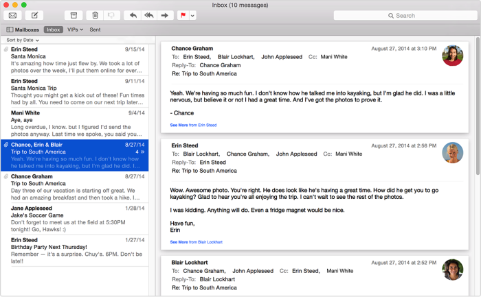 Mail app by Apple