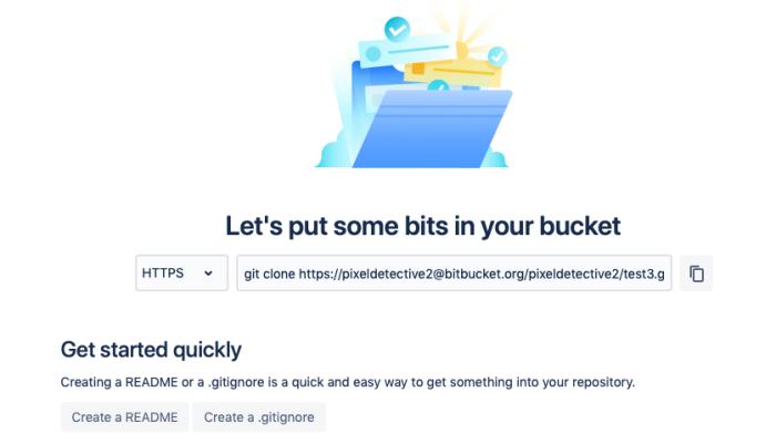 Copia la URL del repositorio