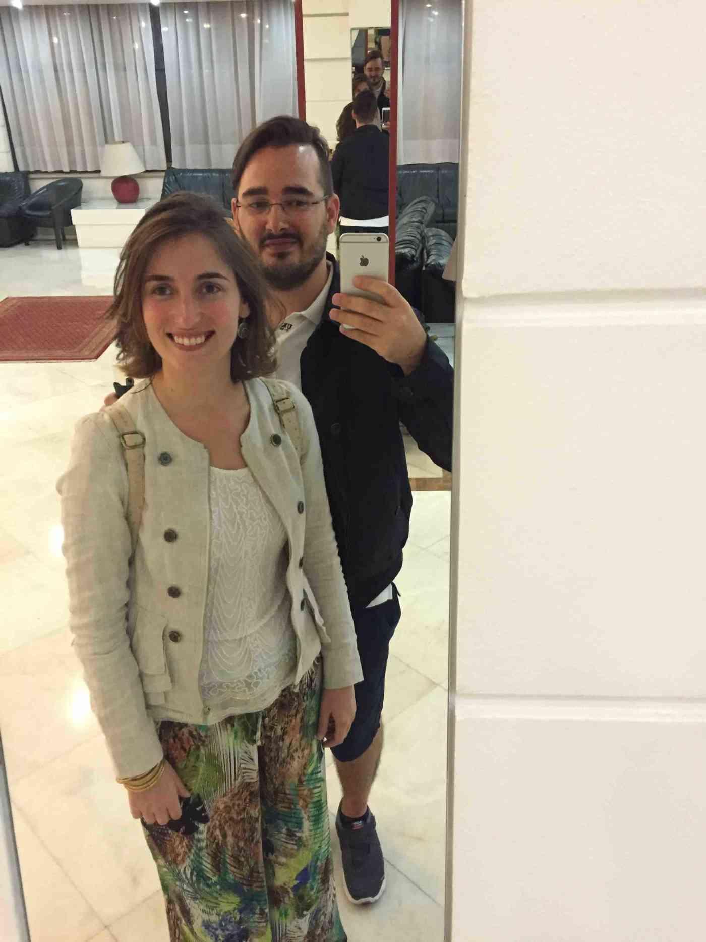 Bruno and Patrícia