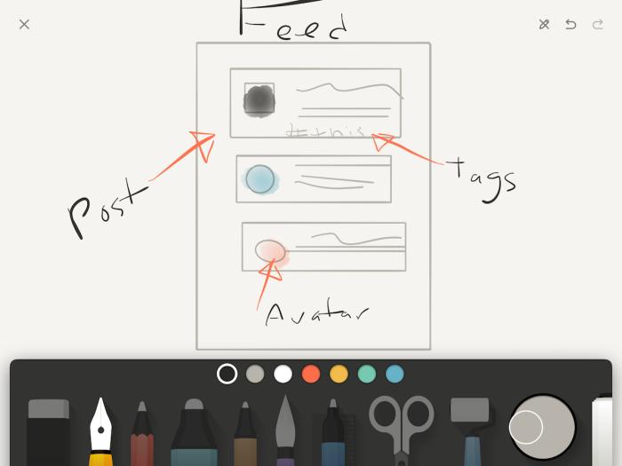 Paper FiftyThree iPad