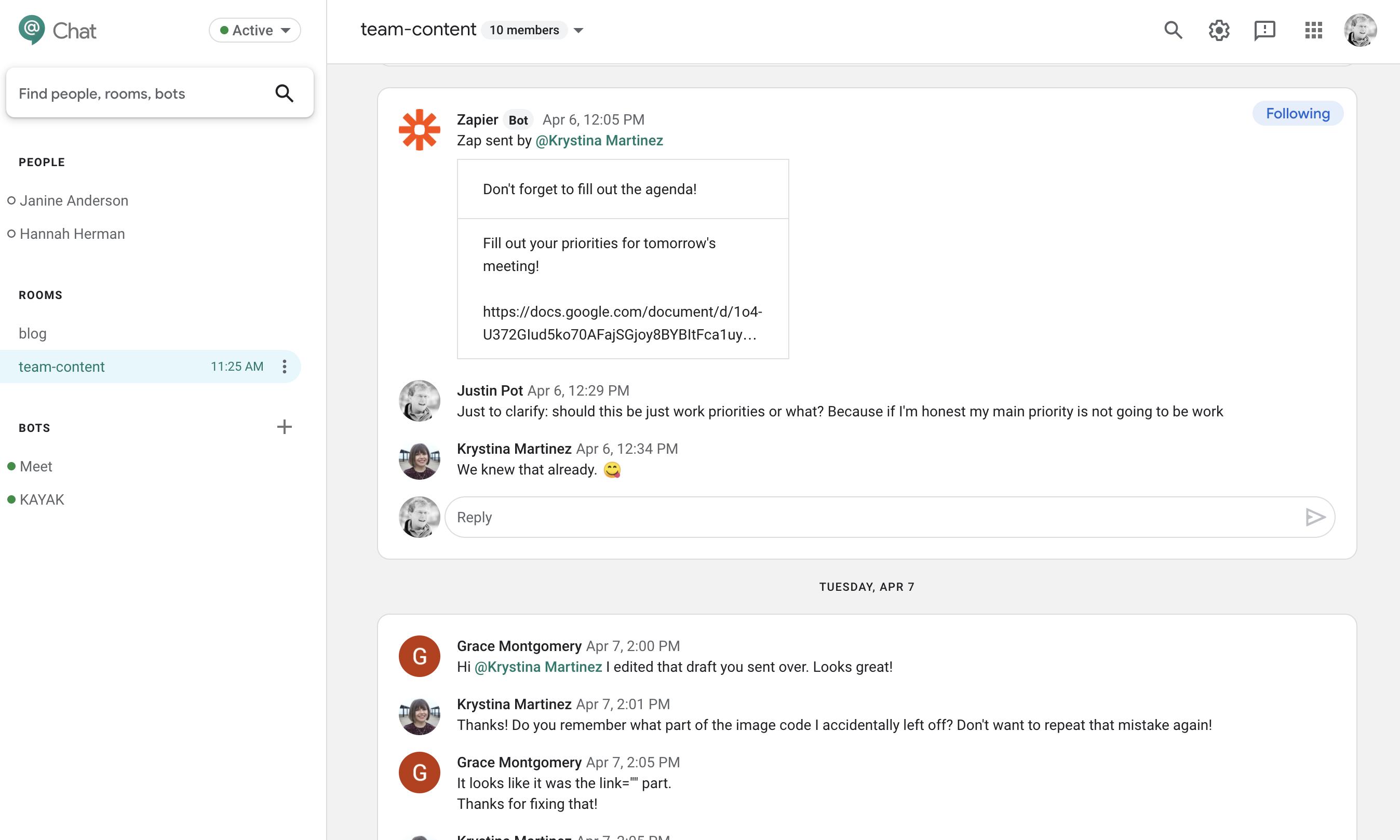 The 5 Best Team Chat Apps In 2020 Zapier