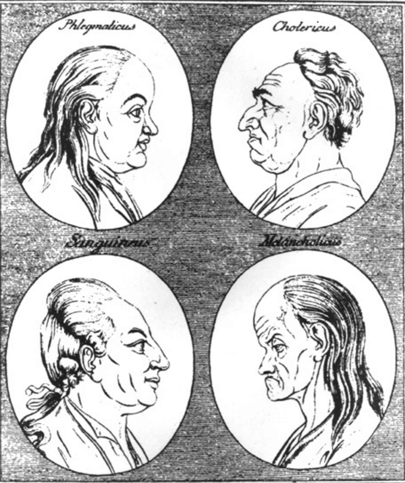Hippocrates personality types