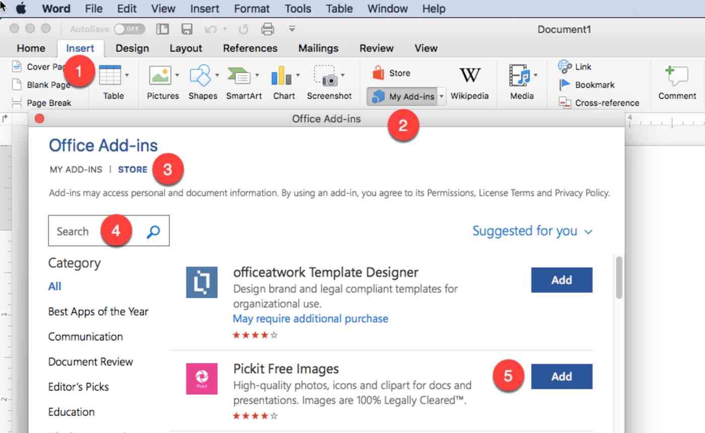 Install add-ins in Desktop Office