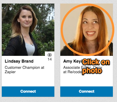 LinkedIn personalized invite