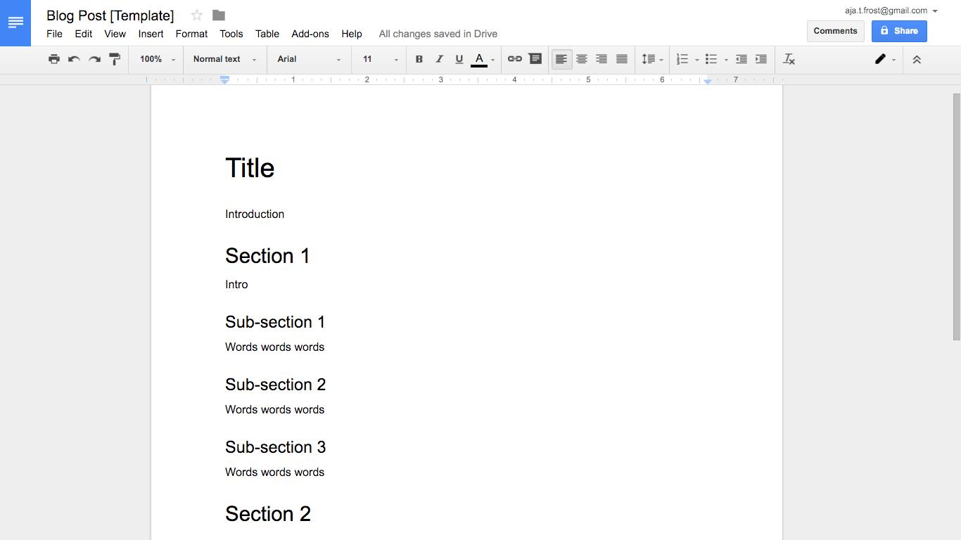 How to create effective document templates   Zapier