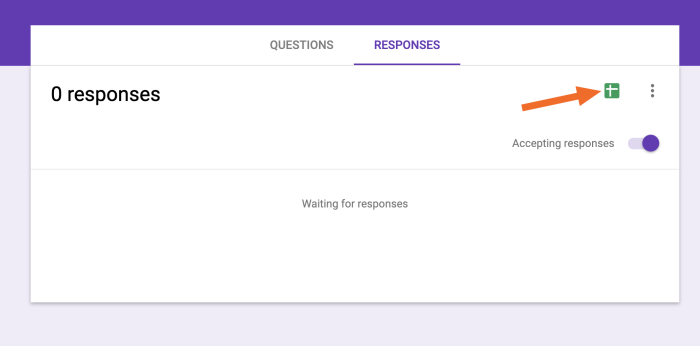 Google Sheets send respones to spreadsheet