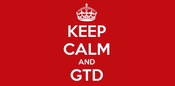 Keep Calm and GTD