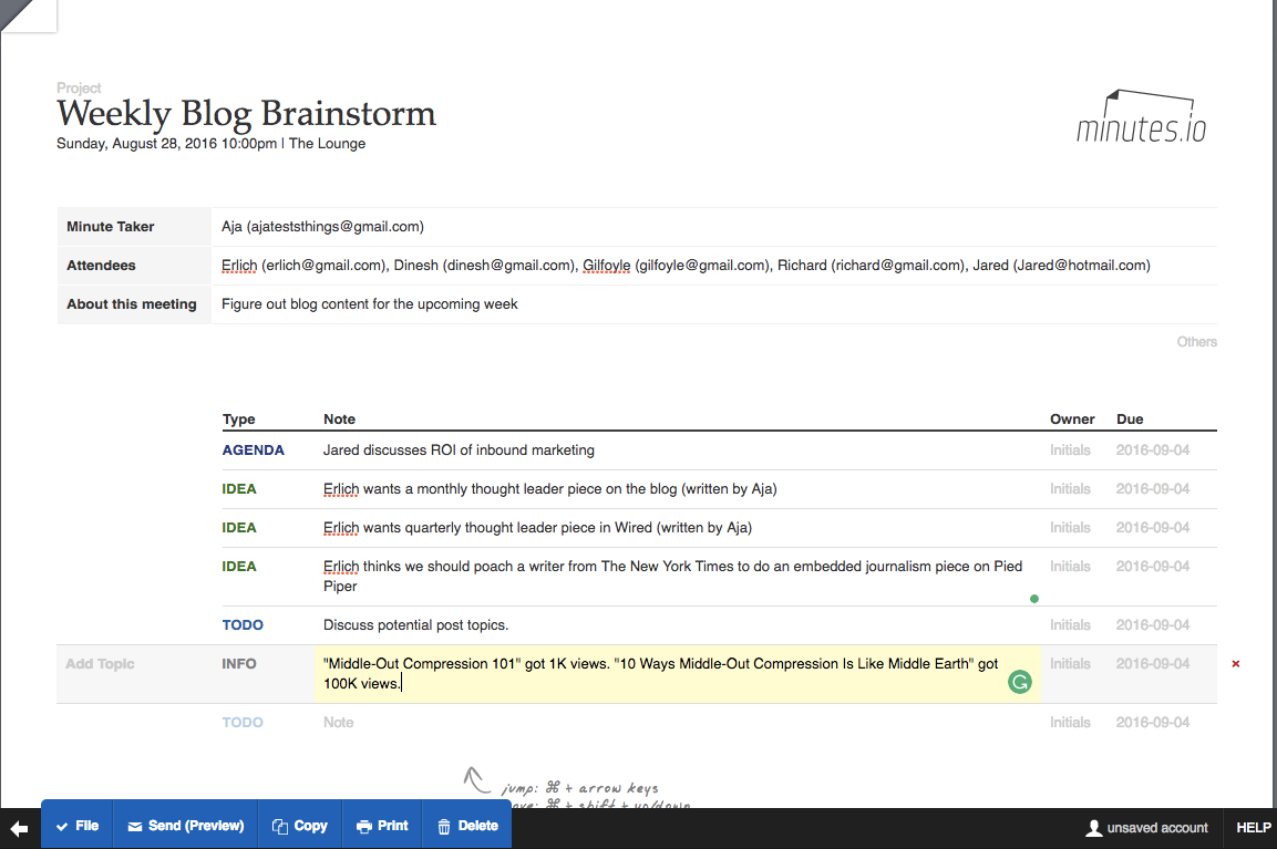 Run More Efficient Meetings 14 Tools For Shared Agendas Minutes And Scheduling