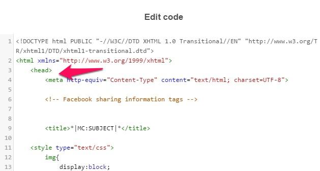 head html document
