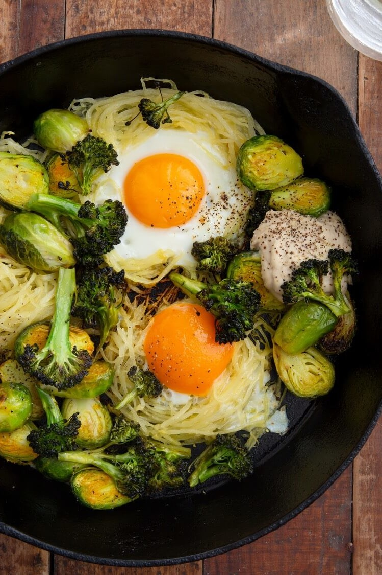 Healthy Egg Skillet ~ Pete and Gerry's