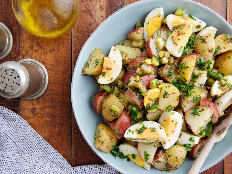 Easy Potato Salad Recipe With Mayo And Egg