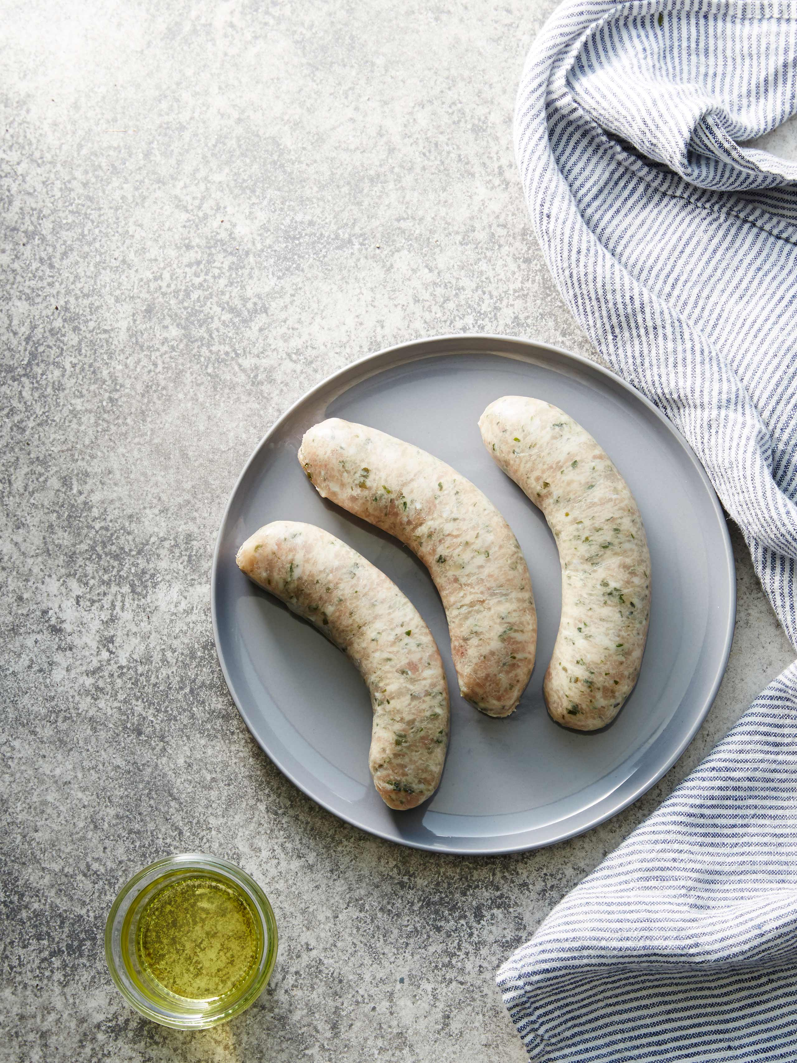 Chicken and Chive Sausage