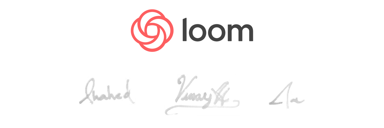 Loom team signatures