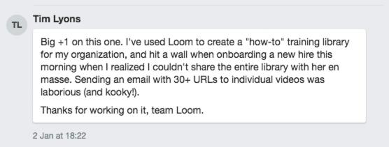 Tim Lyons feedback