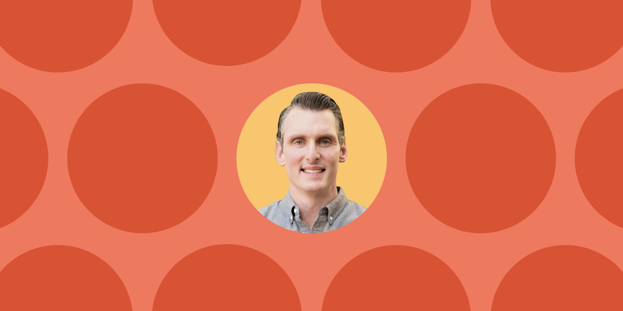 A headshot of Sam Taylor, new Sales & Success VP at Loom.