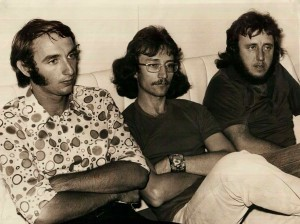 The other members of Trinity, who lost their much-loved bandmate Darcy Day that night.