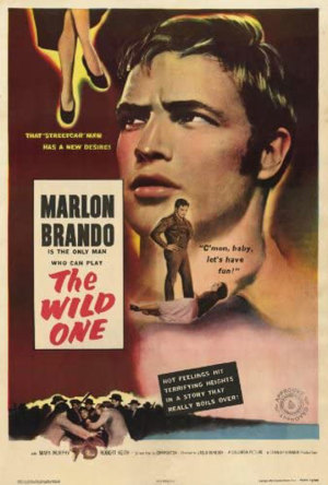 Vince first modelled his own criminal look on the motorcycle gangs, hooliganism and lawlessness and stars in the Wild One, starring his idol Marlon Brando.