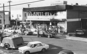 Scene form the Whiskey Au Go Go nightclub mass murder aftermath in Brisbane in 1973.
