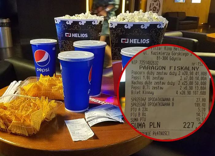 Popcorn warty fortunę