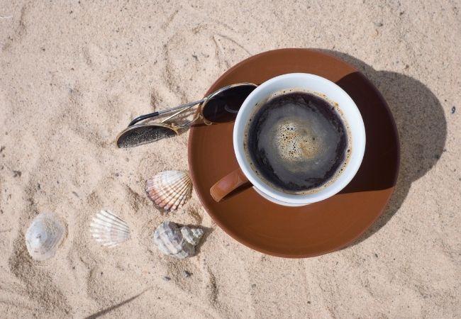 kawa plaża