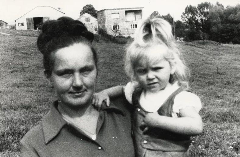 Ewa Wachowicz w młodości