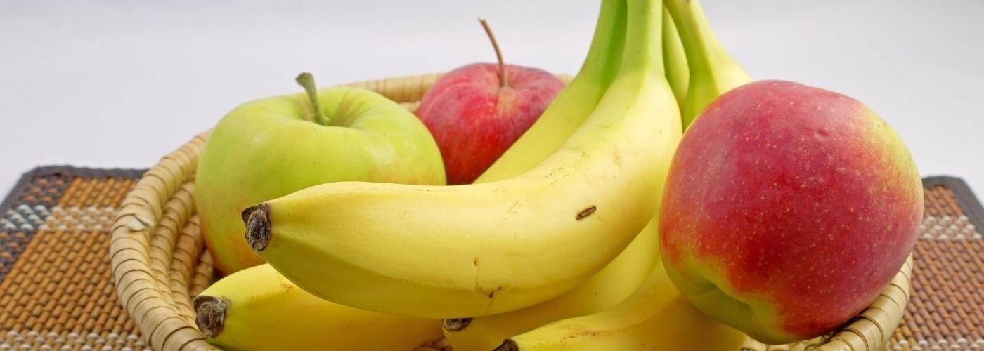 Nie kładź jabłek obok bananów